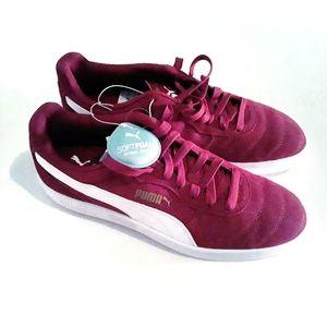 Puma Astro Kicks Burgundy Low Top Sneakers